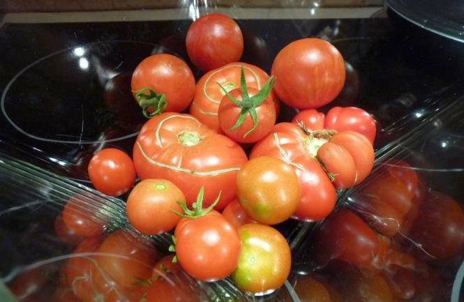 Pomidorų lėkštė